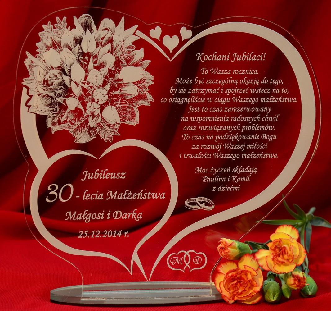 W39 Rocznica ślubu 10 20 30 40 50 Statuetka Prezent